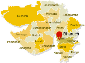 DIET Bharuch On Map